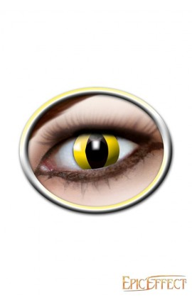 Cat Eyes Yellow - Contact effect Lense