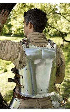 Back Plate Warrior - S IF-200610S Iron Fortress