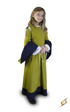 Childrens Dress - Green - 6-8 years
