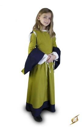 Dziecięca Sukienka - Zielona - 6 - 8 lat