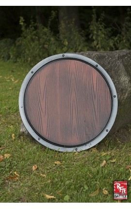 RFB Round Shield - Wood Shield Iron Fortress Ready-For-Battle