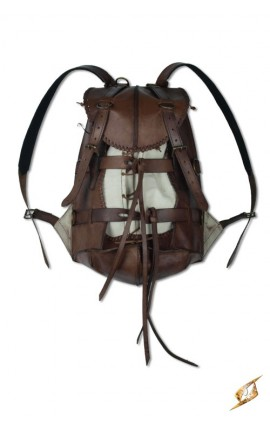 Adventurer Backpack - Brown Iron Fortress Epic Armoury