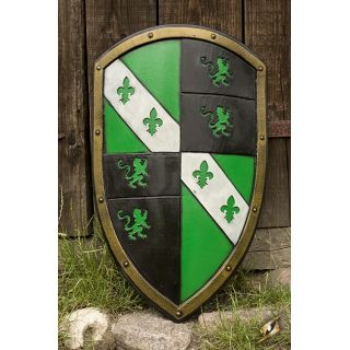 Lion Shield - Green 403015 Iron Fortress