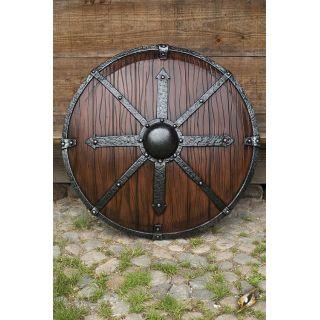 Krom Shield 95 cm - Wood 403054 Iron Fortress