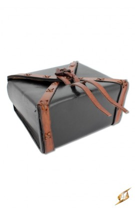 XX - Square Leather Bag - Black Iron Fortress Epic Armoury