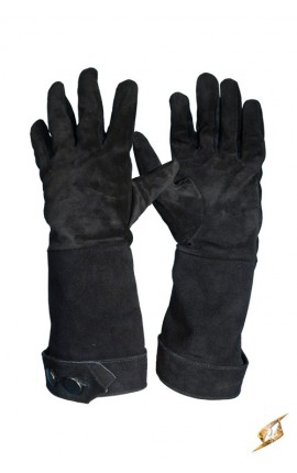 XX - Gloves - Black Leather - M/L