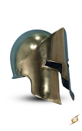 XX - Sparta Helmet - Coated brass - L Iron Fortress Epic Armoury