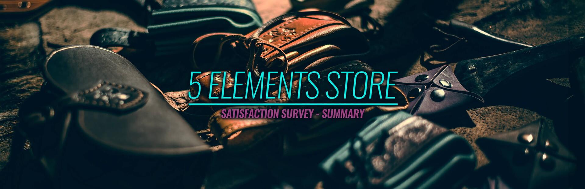 5 Elements Online Store